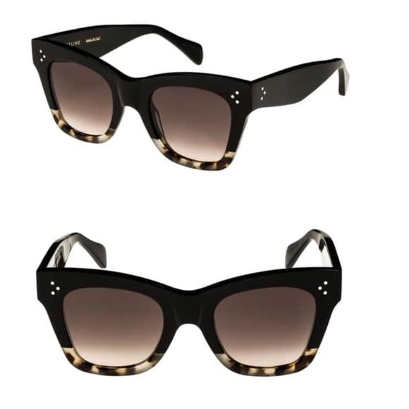 90f406ec97426 Celine Accessories - Celine 50mm Gradient Butterfly Sunglasses